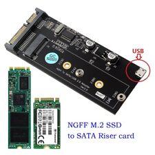 NGFF M.2 SSD to Sata 3.0 Adapter Converter Card Mini Usb Interface