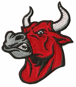 Patch Badge Bull Thermal Adhesive Patches Badge