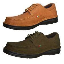 Duke D555 Keanu Mens Big King Size Shoes Lace Up Designer PU Leather Footwear