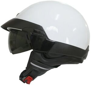 Scorpion EXO-100 Jet Helmet Motorcycle Scooter Crash Retro City Vintage