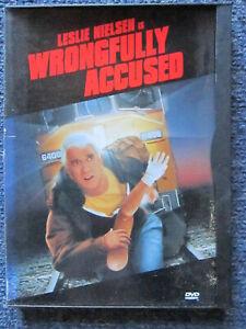 DVD WRONGFULLY ACCUSED  LESLIE NIELSEN   GREAT   *** MUST SEE ****