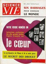 Science et vie n°461 -1956 - Les Plus grands Cardiologues Français - Drouet -