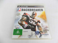 Mint Disc Playstation 3 Ps3 Backbreaker Back Breaker Free Postage