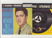 Elvis Presley 1960 Japan STEREO 45' G.I. BLUES / DOIN' THE BEST I CAN Japanese