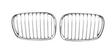 BMW 5 E39 1995-2000 2x PARRILLA / RIÑON Delantero Izquierda+Derecha CromoTUNING!