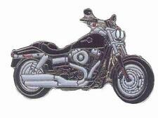 NEW Harley Davidson Fat Bob Motorcycle Enamel Pin Badge from Fat Skeleton