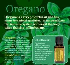 doTERRA Oregano Essential Oil 15mL CPTG New Authentic Sealed Free Shipping!