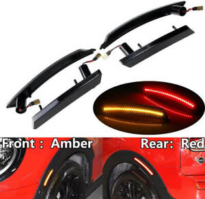 For Mini Cooper R55 R56 R57 R58 R60 R61 LED Side Fender Marker Light Front &Rear