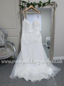 Bari Jay organza wedding dress UK 18- check measurements