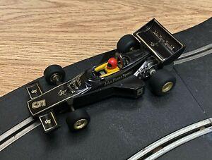 Rare vintage Scalextric C126 JPS John Player Special F1 car - superb & fast