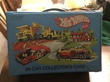 1980 Mattel Hot Wheels 24 Car Case With 21 Cars