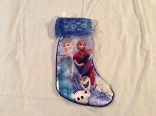 Disney Frozen Elsa, Anna and Olaf Christmas Stocking 18""