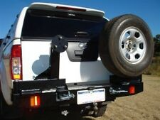 OUTBACK ACCESSORIES WHEEL CARRIER, ISUZU DMAX 06/2012 - 2016, DUAL CAB, 4WD