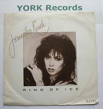"""JENNIFER RUSH - Ring Of Ice - Excellent Condition 7"""" Single CBS A 4745"""