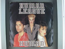 HUMAN  BY HUMAN LEAGUE  45 RPM RECORD