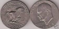 IKE 1974-D DOLLAR Eisenhower hoard