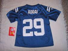 NFL Indianapolis Colts Addai #29 Kids Jersey Sz 7 LG