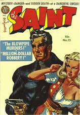 The Saint #12 Photocopy Comic Book, Simon Templar