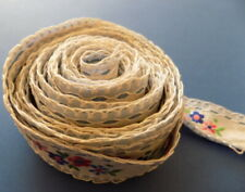 Beautiful Vintage  Embroidered  Strip (Ribbon) №2