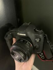 Canon EOS 5D Mark III 22.3MP Digital SLR Camera - Black With 50mm Lens