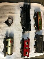 MARX #999 DIECAST Plus More Lot Of 7 STEAM ENGINE W/NYC TIN TENDER-OLDER