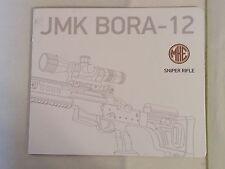 MKE JMK BORA-12 Sniper Rifle Data Booklet NEW From Turkey