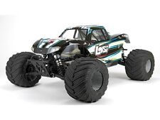 LOSI MONSTER TRUCK XL RTR, AVC: 1/5 4wd (Black) #los05009t1