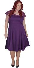 Knee Length Lace Short Sleeve Dresses for Women
