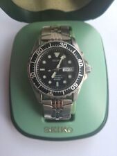 seiko kinetic 200m 5m63-0A10 sapphlex crystal mens watch with box