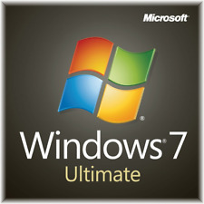 Windows 7 Ultimate sp1 32 64 Bit Original Genuine full version