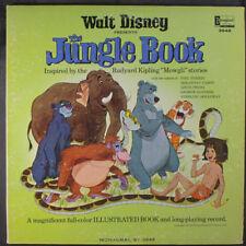 WALT DISNEY: The Jungle Book LP (Mono minor cw, gatefold w/ attached inner page