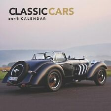 Classic Cars 2016 Calendar by Universal Magazines