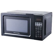Digital Kitchen Microwave Oven Home Office LED Countertop Small Appliance Black