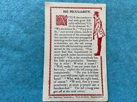 His Peculiarity (the train conductor) Vintage Early 1900's Postcard