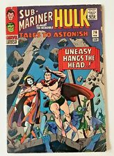 Tales To Astonish #76 Sub-Mariner & Hulk Marvel 1966 Silver Age VF