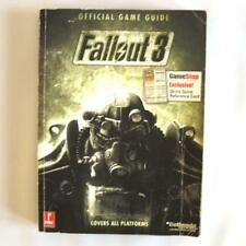 Fallout 3 Prima Official Game Guide Map Poster Skills Reference Card Paperback