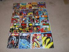 SOLAR MAN OF THE ATOM 24 Issue Lot