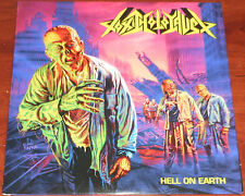 Toxic Holocaust - Hell On Earth LP / Color Vinyl Gatefold + Poster / New (2005)
