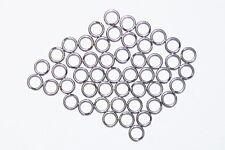 (100) American Stainless Steel Split Rings, #1, #2, #3, #5