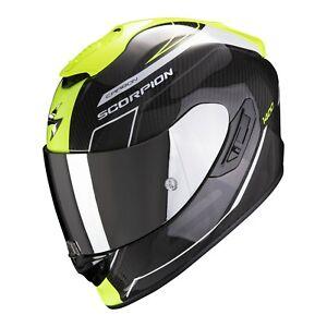 Scorpion Exo-1400 Air Carbon Beaux Motorcycle Helmet Sport Helmet with Sun Visor
