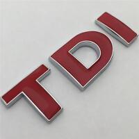 TDI Badge Emblem NEW For VW GOLF POLO LUPO PASSAT EOS TRANSPORTER MK4 MK5 MK6