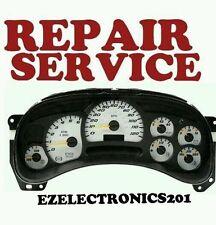 2003 2006 Cadillac Escalade Speedometer Instrument Cluster REPAIR SERVICE