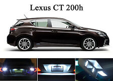 LED for Lexus CT-200H Xenon White License Plate/Tag LED Lights Bulbs (2 pieces)