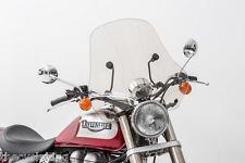 """Honda CB400 CB 400 500 550 K/F - Clear 20"""" Sport Windshield"""