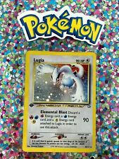 �� 1st Edition Lugia Holo 9/111 Neo Genesis Card Pokemon Rare Authentic Invest�