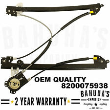 RENAULT MEGANE II MK2 4/5 DOOR 02>08 FRONT RIGHT UK DRIVERS WINDOW REGULATOR NEW