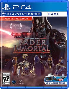 Vader Immortal: A Star Wars VR Series (PlayStation 4 PSVR) BRAND NEW SEALED! ps4