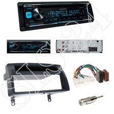Kenwood KDC300UV CD/USB Radio + Toyota Corolla Blende dunkelgrau + ISO Adapter