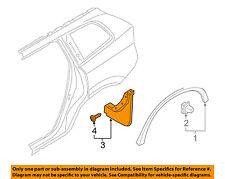 VOLVO OEM 16-18 XC90 Exterior-Mud Flap Splash Guard 31664101