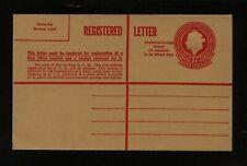 Australia  postal  registered envelope  unused        KEL0429